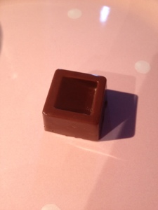 Lonely truffle. It'll be sad if you don't eat it.